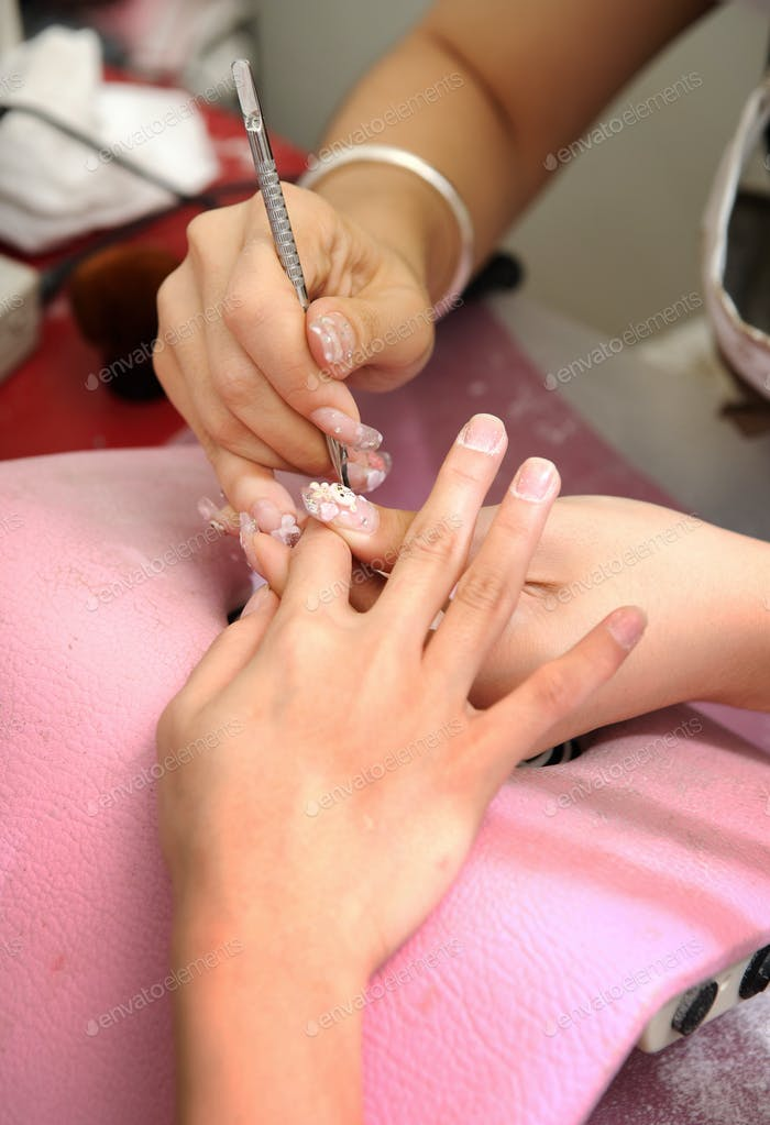 Manicure treatment