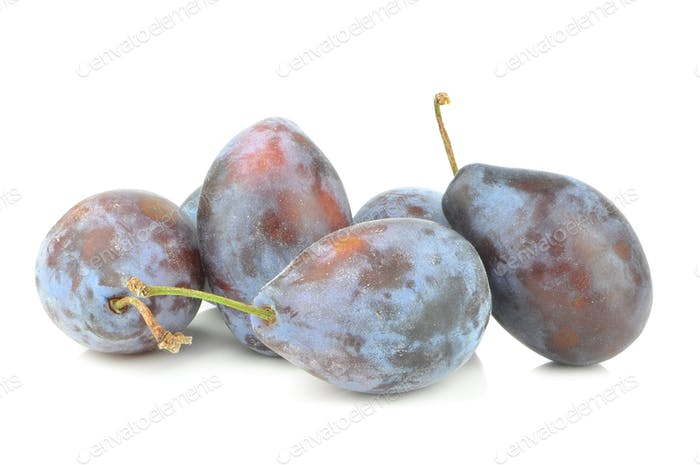Group of Plums