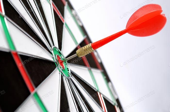 Pfeile und Darts Ziel