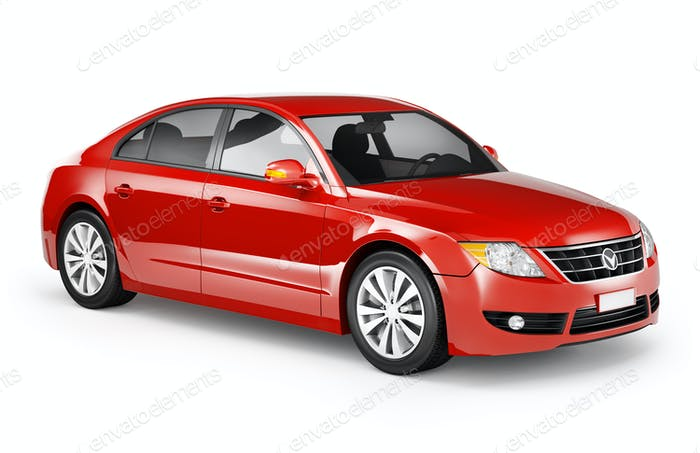 Red Sedan Image converted using ifftoany