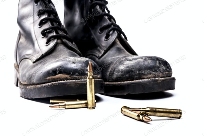 Army Boots and Bullets