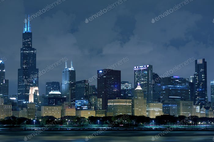 Skyline Chicago Illinois