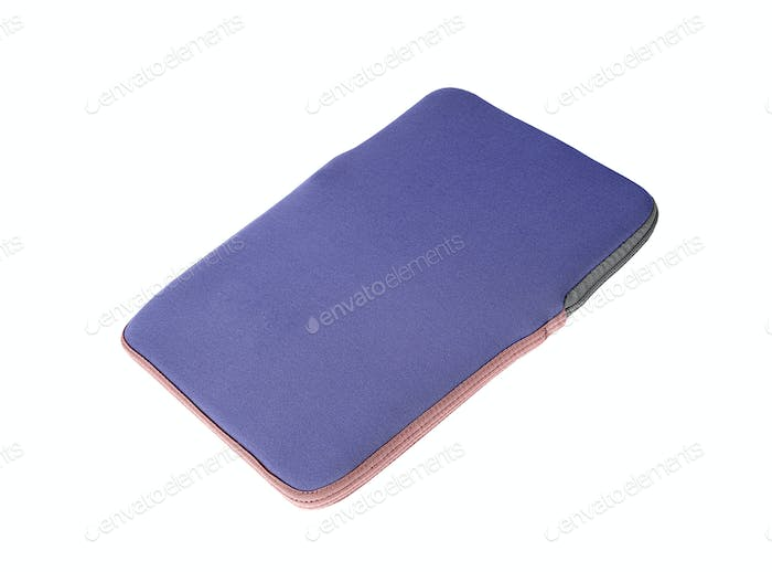 Laptop case isolated