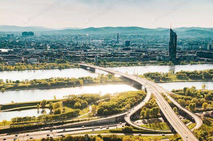 Panorama der Donau