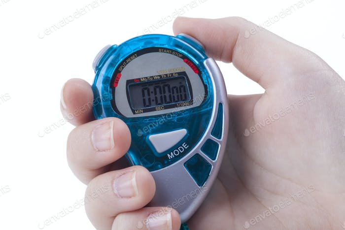Blue Digital Timer