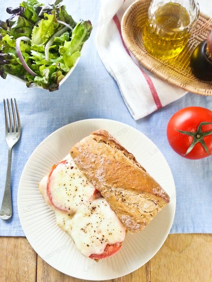 Morzarella sandwich