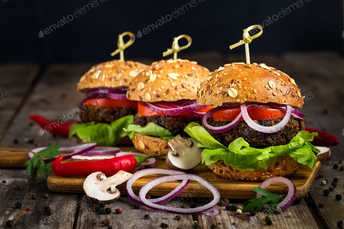 Thumbnail for Vegan burgers