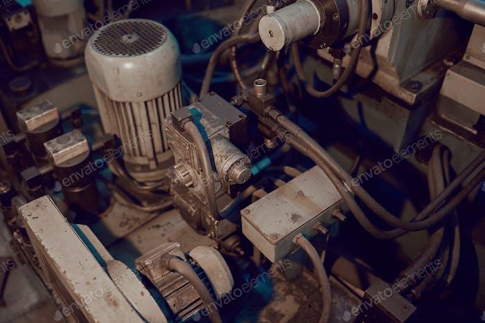 Motor of the machine