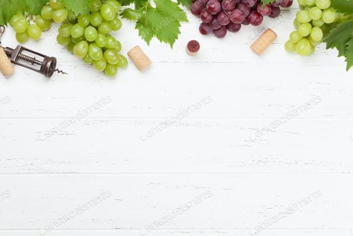 Various grapes