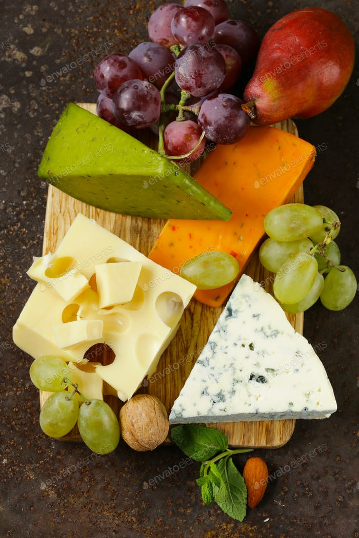 Thumbnail for Cheeseboard With Different Cheese
