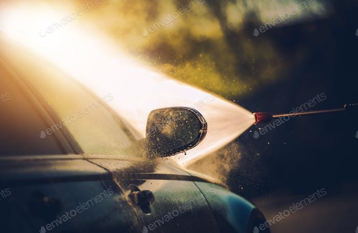 Car Washing Process