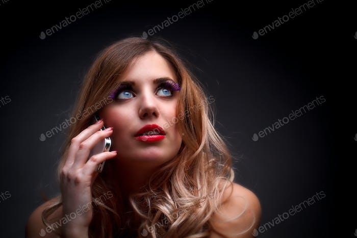 Beautiful model woman