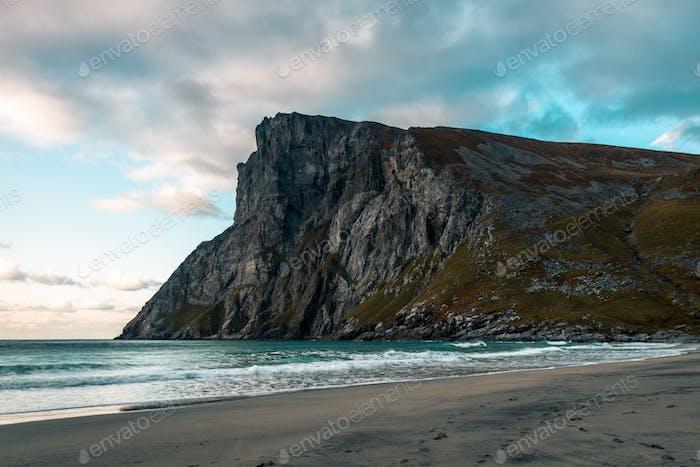 Ryten and Kvalvika Beach in Norway