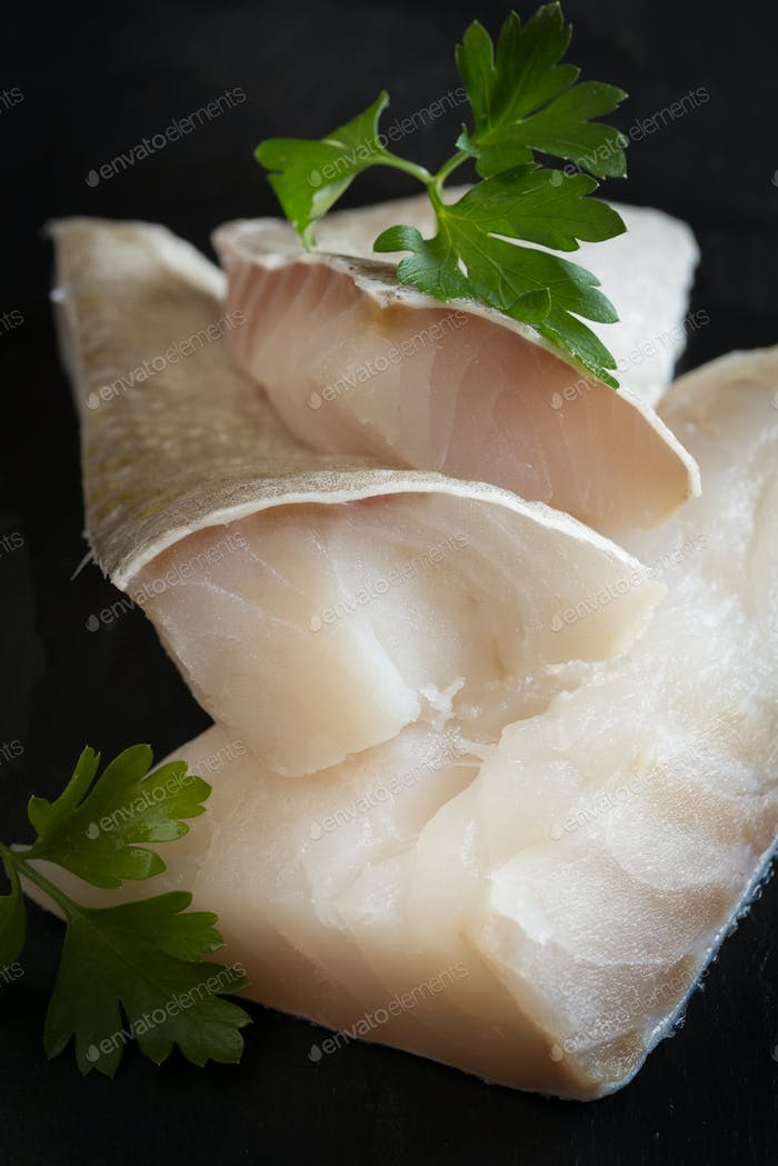 White salted codfish
