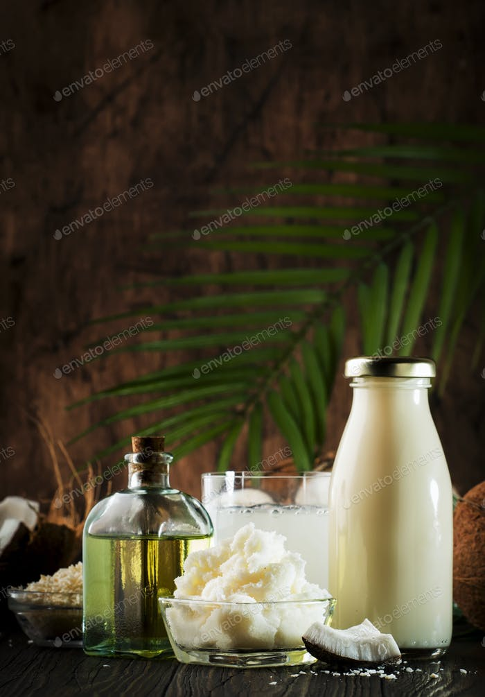 Coconuts products