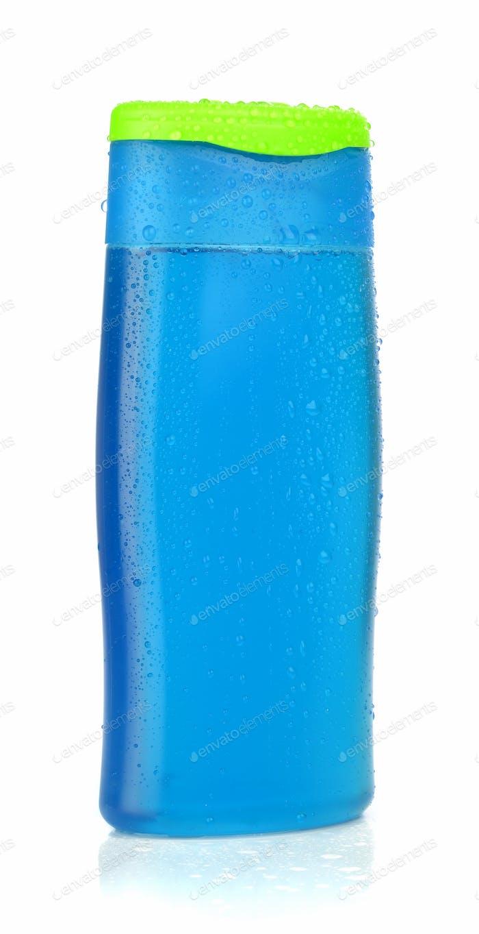 Eine Flasche Duschgel Shampoo