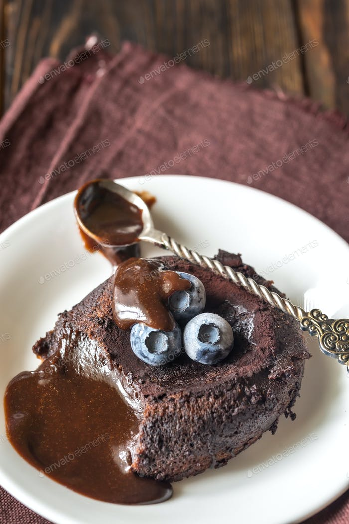 Schokoladenfondant