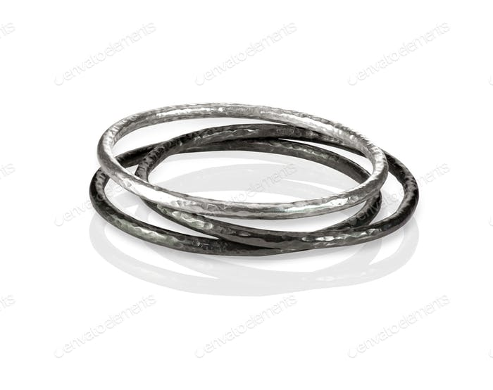 Stack Metal Bangle Bracelets