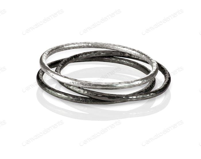 Stack Metall Armreif Armbänder