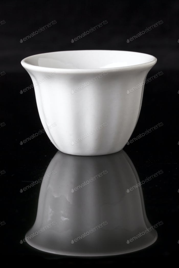 Single White Cup
