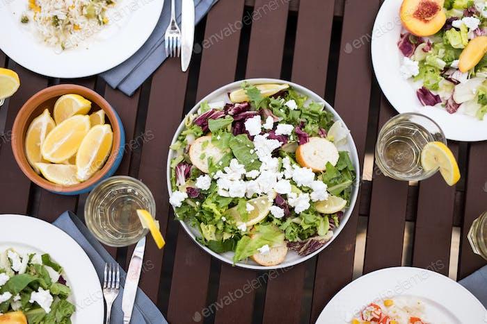 Vegetarian Meal Flat Lay