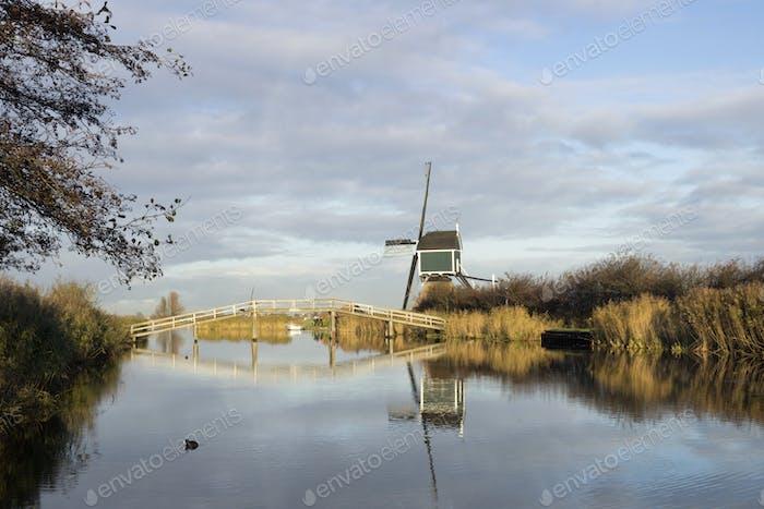 The Achterlandse windmill