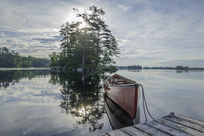 Stony Lake Early Morning