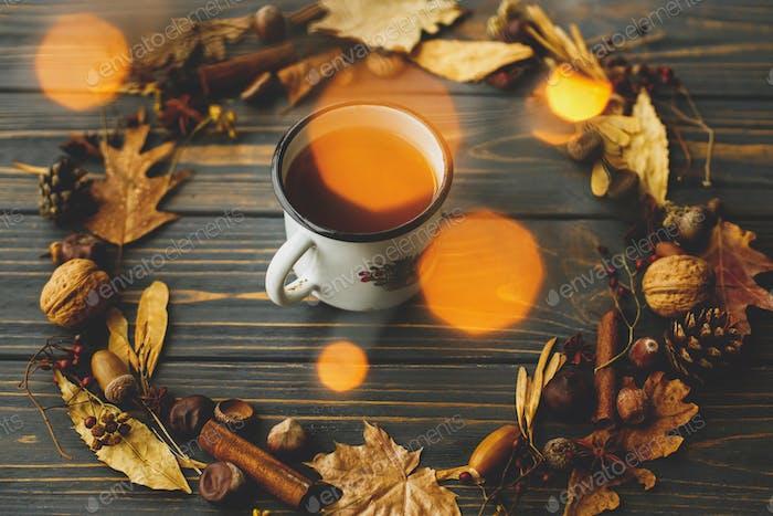 Rustic autumn image