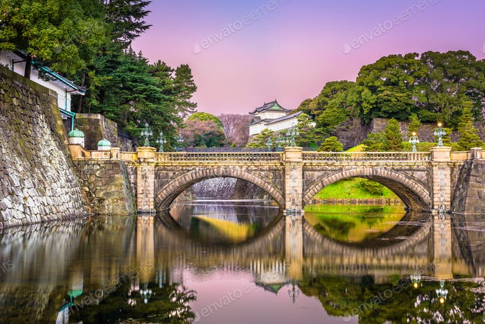 Tokyo Imperial Palace Moat