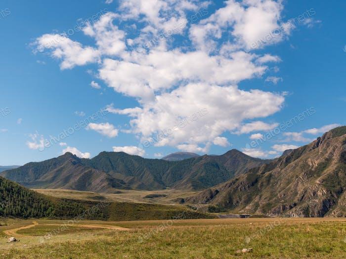 landscape Altai mountains a Siberia, Russia