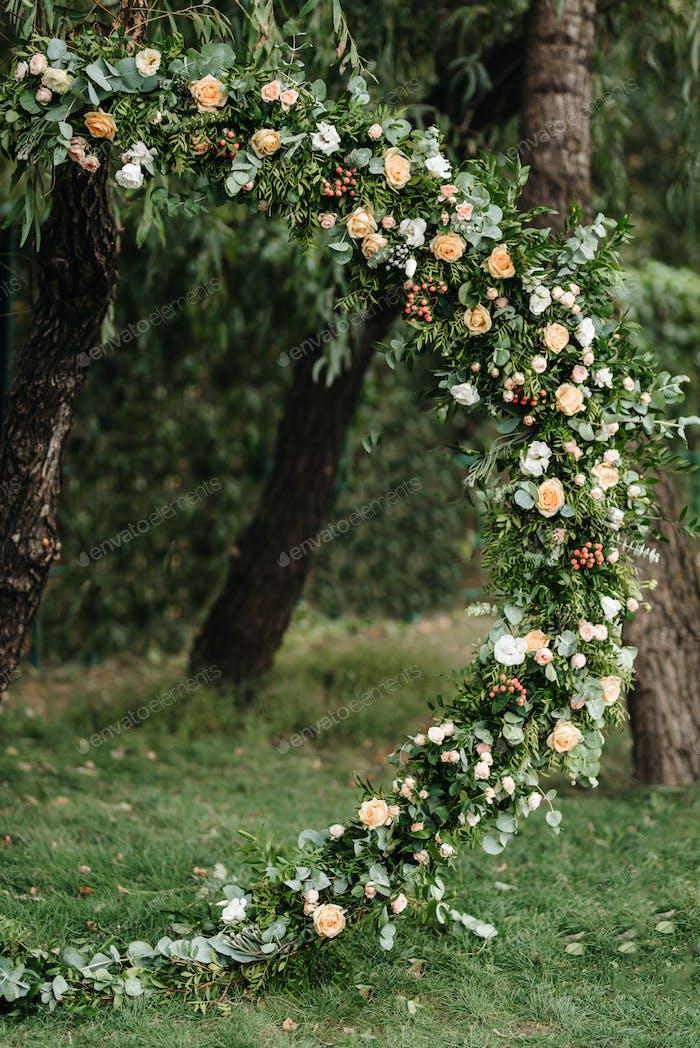 Hochzeitszeremonie Bereich