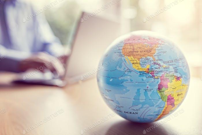 Negocios y comunicaciones globales