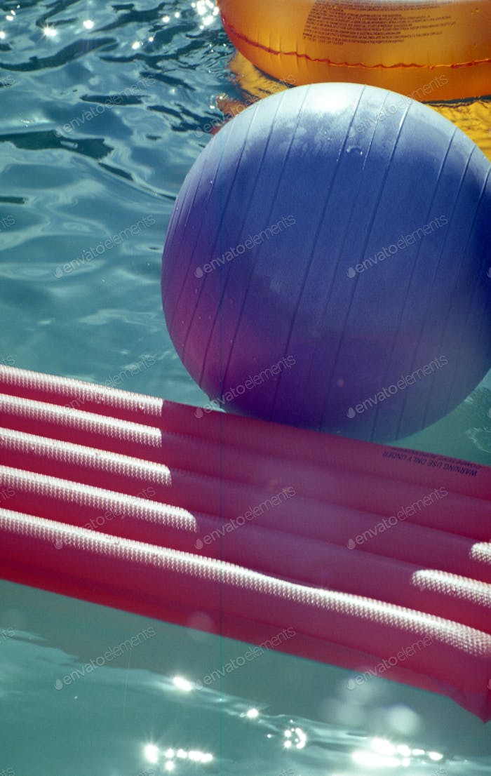 Pool Summertime Abstract