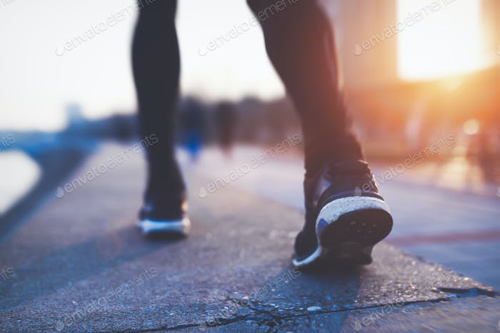 Exercising and running are part of healthy lifestyle