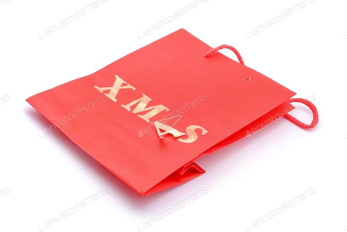 broken christmas gift bag