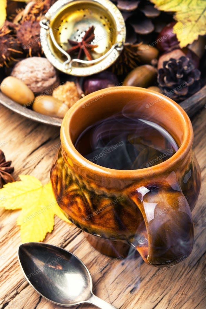 Herbal Autumn Tea