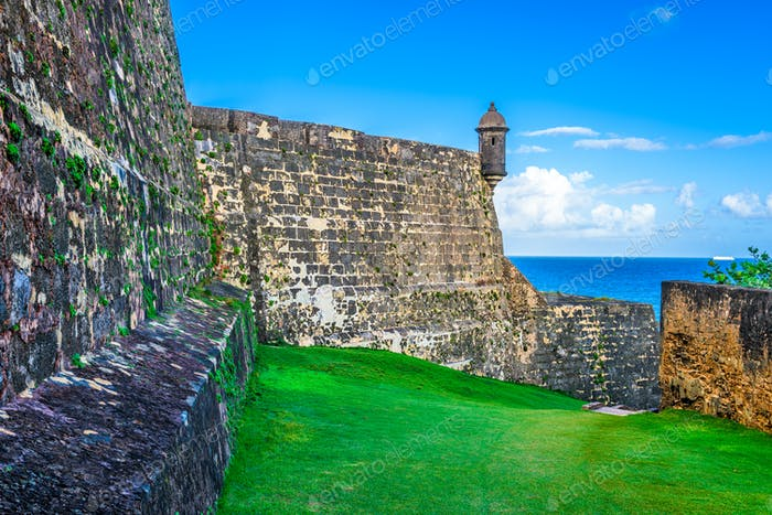 San Juan Puerto Rico Fort