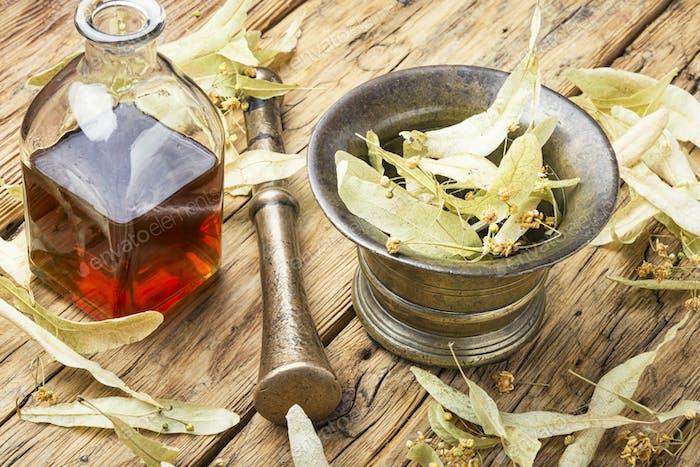 Healing linden potion