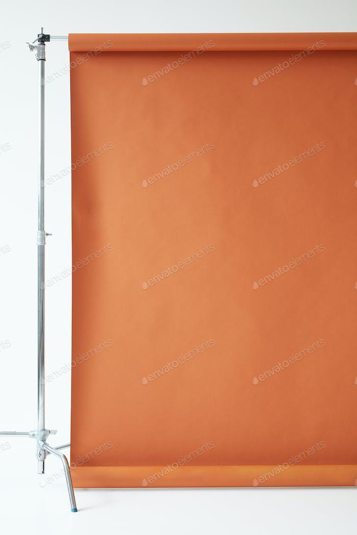 brown paper backdrop