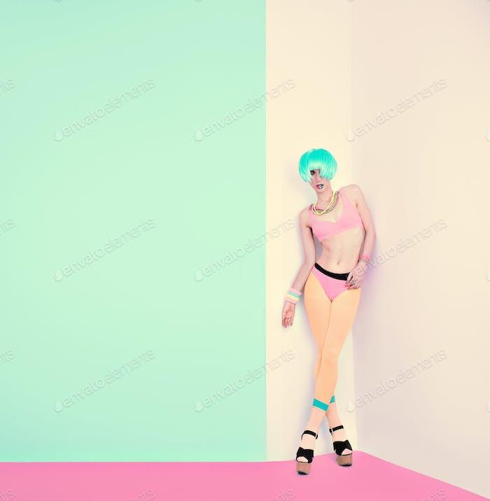 vanilla style fashion girl