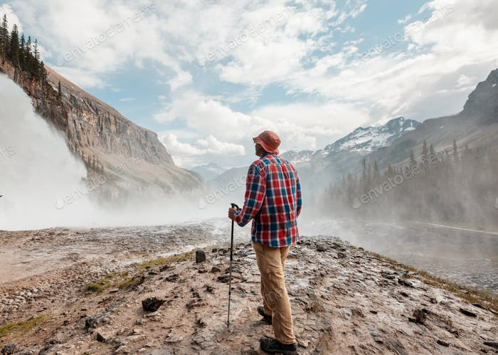 Wasserfall in Kanada