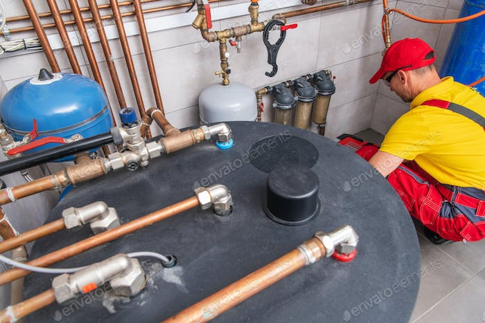 Home Water Heating and Distribution System