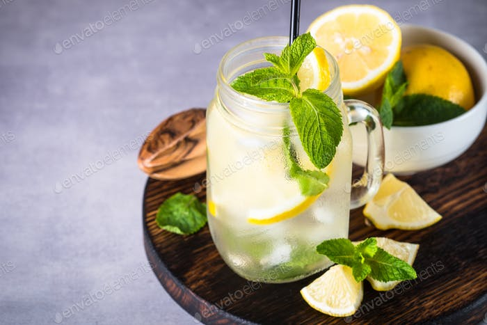 Lemonade summer cold drink