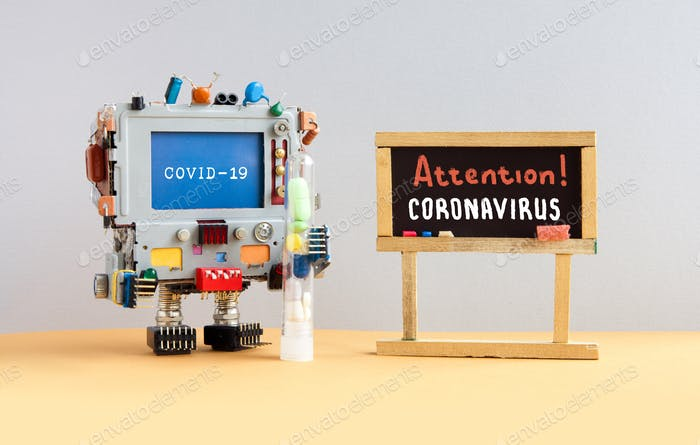 Attention coronavirus covid 19