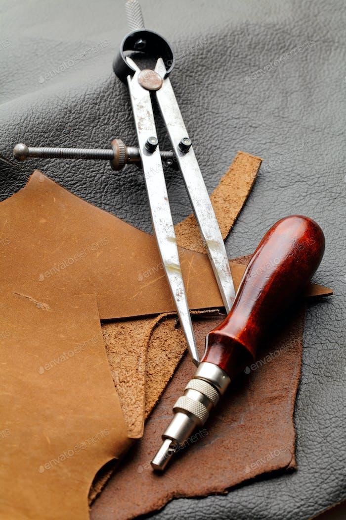 Handmade Leathercraft equipment