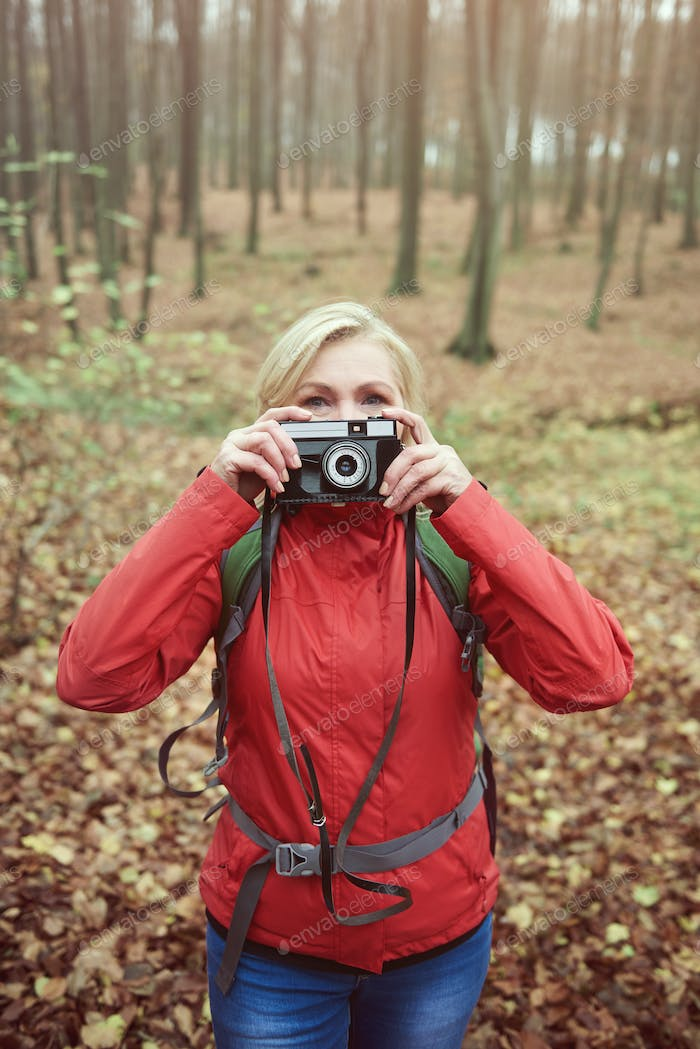 Looking for something to be photographed