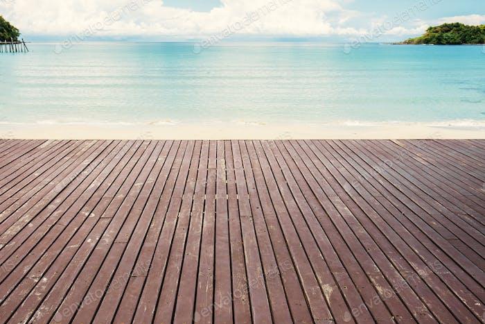 Altes Holz am Strand
