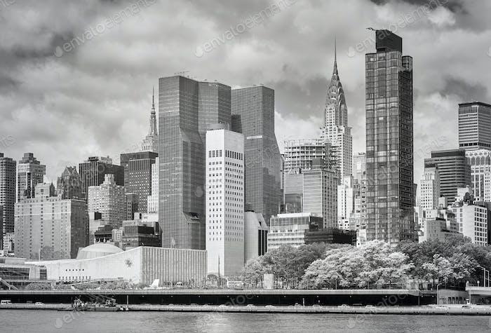 New York City Skyline, Vereinigte Staaten von Amerika.