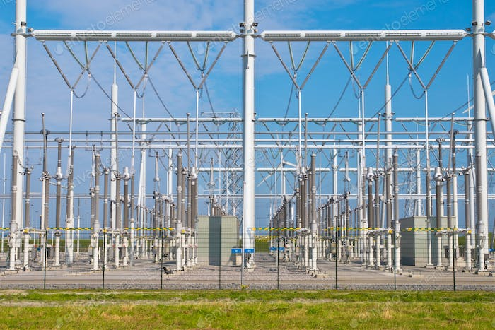 transformation power station