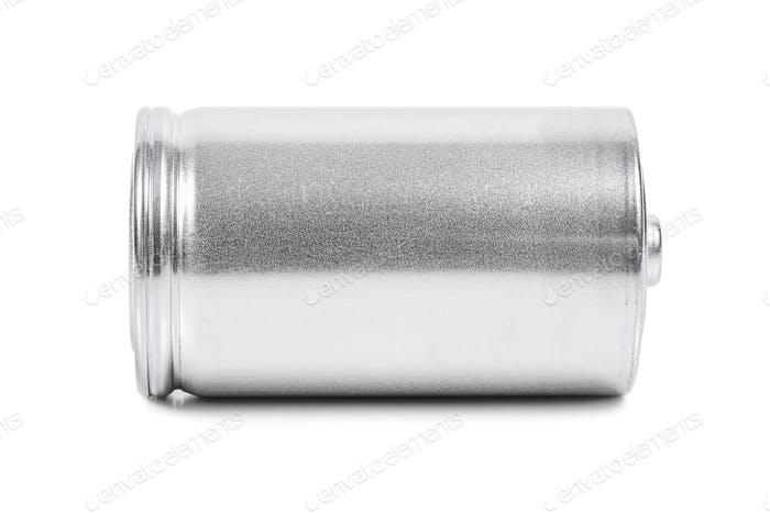 LR20 D size battery on white background